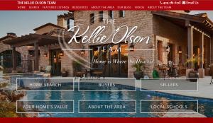 Responsive Refresh for Keller Williams eAgentC website made by BrandCo