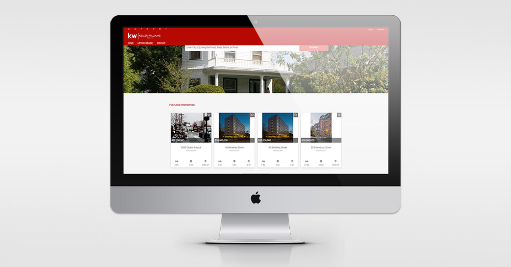 New Keller Williams website